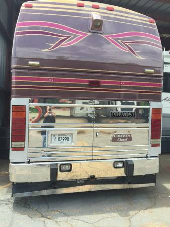 1996 Prevost Liberty Coach 45 FT Motorhome For Sale in ...