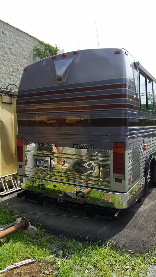 1993 Prevost Country Coach 40FT Motorhome For Sale in ...