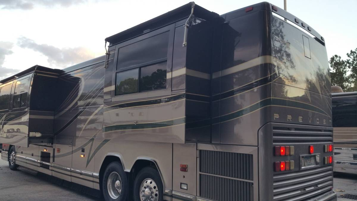 2001 Prevost Featherlite 45FT Motorhome For Sale in ...