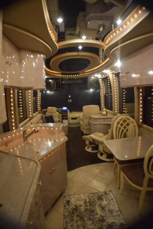Inside A Cruise Ship Engine Room: 2001 Prevost XLII Liberty Coach Motorhome For Sale In